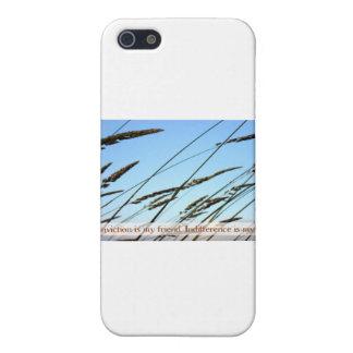 Cita inspirada -- Convicción iPhone 5 Coberturas