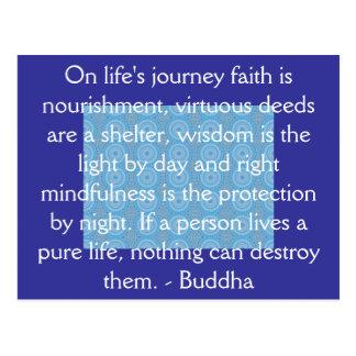 Cita inspirada de Buda Postales