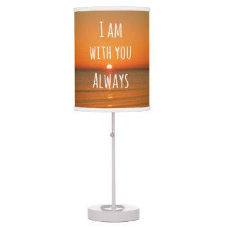 Cita inspirada de dios: Verso de la biblia estoy c Lámpara De Mesilla De Noche