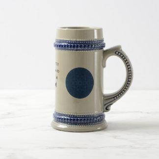 Cita inspirada de Gandhi sobre esfuerzo personal Taza De Café