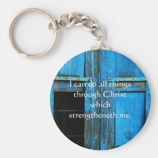 Cita inspirada de la biblia - 4:13 de los llavero redondo tipo pin