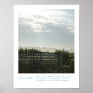 Cita inspirada de la fotografía rural de la granja impresiones