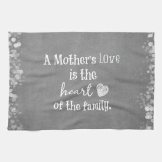Cita inspirada de la mamá toalla