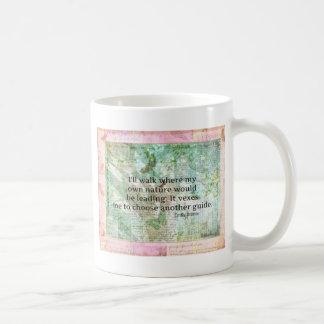 Cita inspirada de la naturaleza de Emily Bronte Taza De Café
