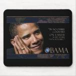 Cita inspirada de Obama Alfombrilla De Raton