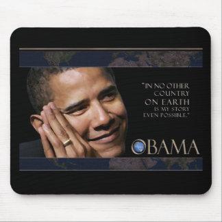 Cita inspirada de Obama Tapetes De Ratones