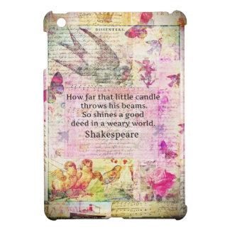 Cita inspirada de Shakespeare sobre buenos hechos