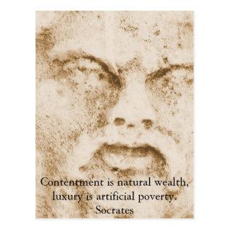 Cita inspirada de Sócrates Postales