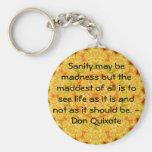 Cita inspirada del Don Quijote Llaveros
