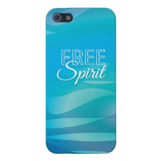 Cita inspirada espiritual de la libertad del trull iPhone 5 cárcasas