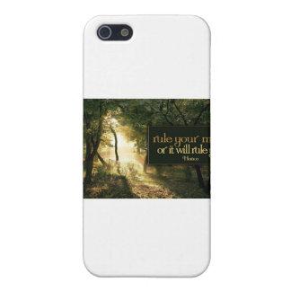 Cita inspirada -- Horacio iPhone 5 Protector