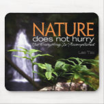 Cita inspirada -- Naturaleza Tapetes De Ratones