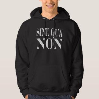 Cita latina famosa de la condición indispensable: jersey con capucha