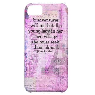 Cita linda del viaje de Jane Austen con arte