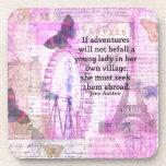 Cita linda del viaje de Jane Austen con arte Posavaso