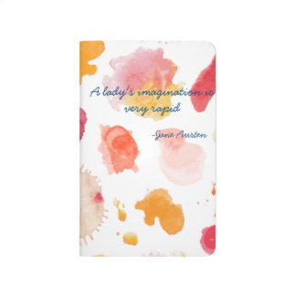 Cita literaria de Imagination Jane Austen de Cuadernos