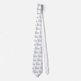 Cita manuscrita de la familia corbata personalizada
