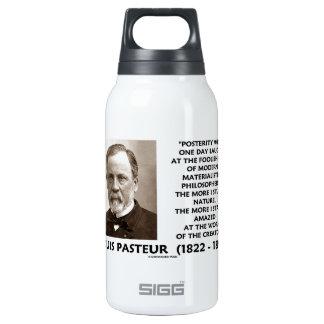 Cita materialista de Pasteur de los filósofos de