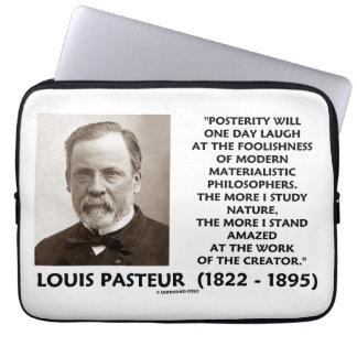 Cita materialista de Pasteur de los filósofos de Manga Portátil