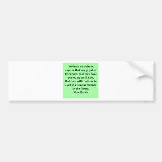 cita máxima del tablón pegatina de parachoque