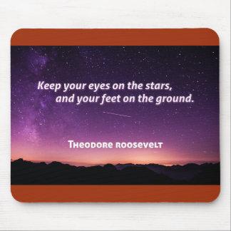 Cita Mousepad de Theodore Roosevelt
