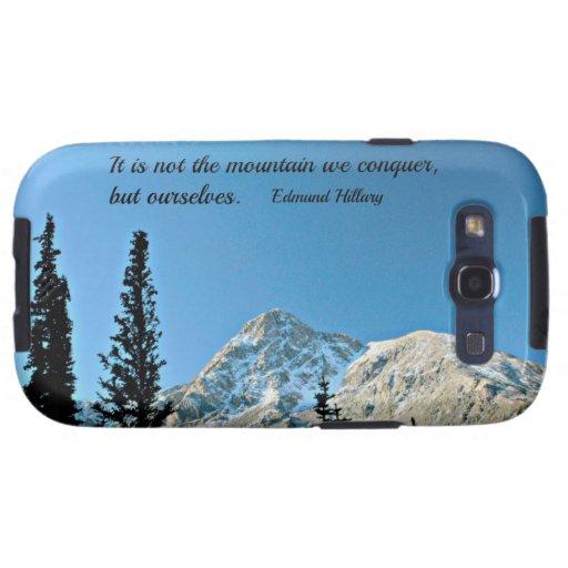 Cita: No es la montaña que conquistamos… Galaxy S3 Coberturas