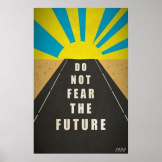 Cita No tema el futuro Posters