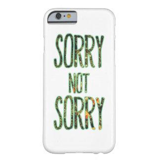 Cita no triste triste funda de iPhone 6 barely there