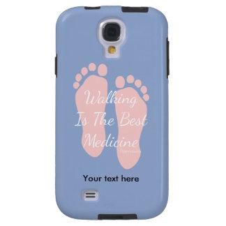 Cita que camina color de rosa de Serinity Funda Galaxy S4