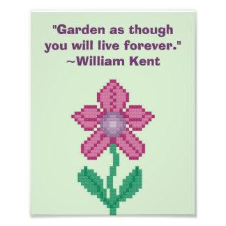 Cita que cultiva un huerto de William Kent Cojinete