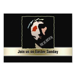 """Cita religiosa del verso de la biblia de Pascua Invitación 5"""" X 7"""""""