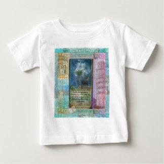 Cita romántica de Shakespeare de Romeo y de T-shirts