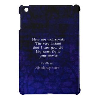 Cita romántica del amor de William Shakespeare