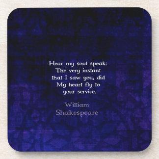 Cita romántica del amor de William Shakespeare Posavaso
