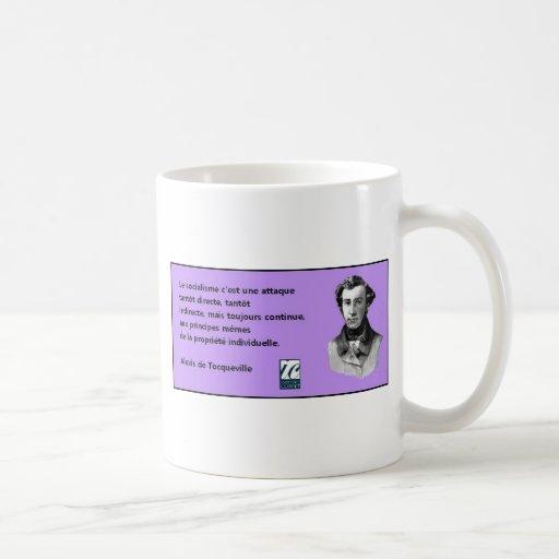 Cita Tocqueville Taza De Café