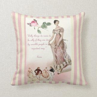 Cita tonta de Jane Austen de las cosas Almohadas