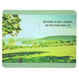 cita y paisaje de Kennedy Cuaderno