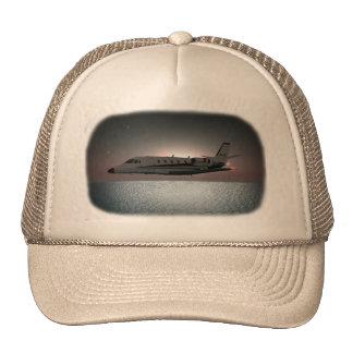 Citación en gorra del camionero de la travesía