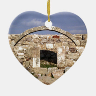 Citadel Byzantine Church Arch Ceramic Ornament