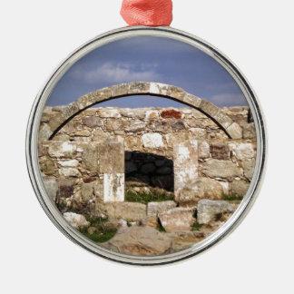 Citadel Byzantine Church Arch Metal Ornament