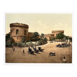 Citadel, Carlisle, England vintage Photochrom Postcard