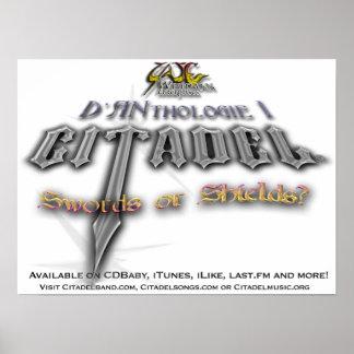 Citadel ® D'Anthologie 1 Promo Poster