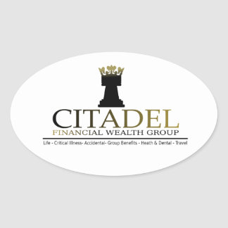 Citadel Financial Wealth Group Oval Sticker