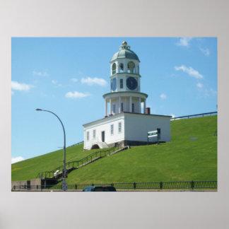 Citadel Hill Clock Tower Poster