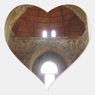 Citadel Monumental Gateway Door Heart Sticker