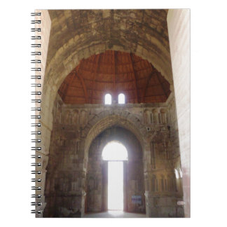 Citadel Monumental Gateway Door Spiral Notebook