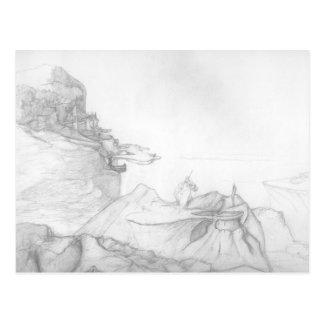 Citadel of Ahm Shala - Concept Art Postcard