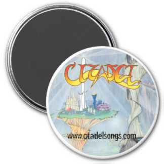 Citadel ® The Citadel of Cynosure & Other Tales 3 Inch Round Magnet