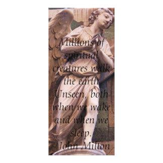 Citas angelicales del ángel - cita del ángel tarjeta publicitaria a todo color