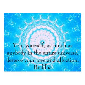 Citas budistas del espiritual de la CITA de Buda Postal